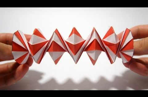 Origami Spring into Action (Jeff Beynon) - YouTube | Fold ... - photo#25