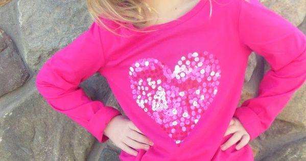 The Polka Dotty Heart Top Tutorial by Hazel and Company