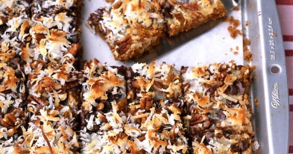 Chocolate Coconut Bars . . . takes five minutes to throw together