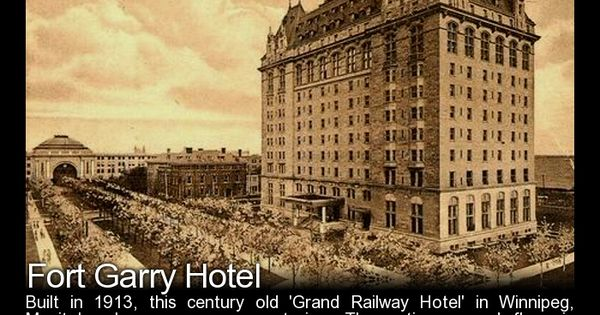 Fort garry hotel winnipeg manitoba canada world of for Paranormal activities in the world