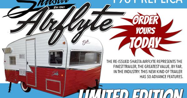 2015 Shasta Retro 1961 Airflyte Reissue Rvs For Sale In Upcomingcarshq Com