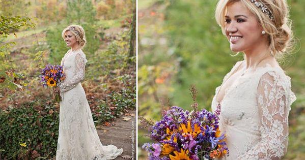 Kelly clarkson wedding kelly clarkson pinterest for Kelly clarkson wedding dress replica