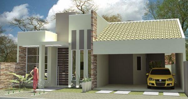 20 fachadas de casas pequenas e super modernas house - Casas super pequenas ...