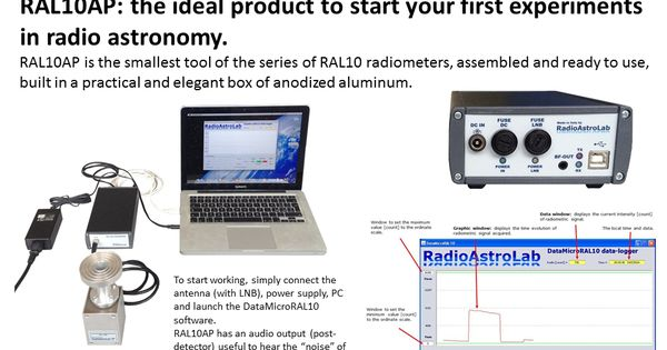 Amateur Radio Astronomy: build a microwave radio telescope ...