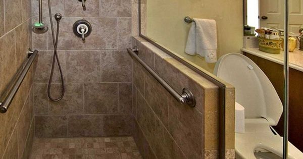 We Re Here To Help You Age Safely In Your Home Small Bathroom Handicap Bathroom Accessible Shower