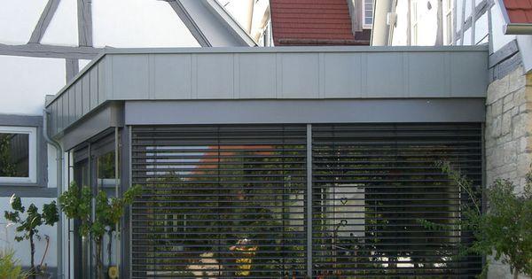 Pin Von Vonallemwas Auf Garage Attika Dach Flachdach