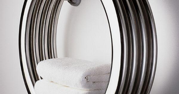 Hot Hoop Towel Warmer Bisque Co Uk Bathroom