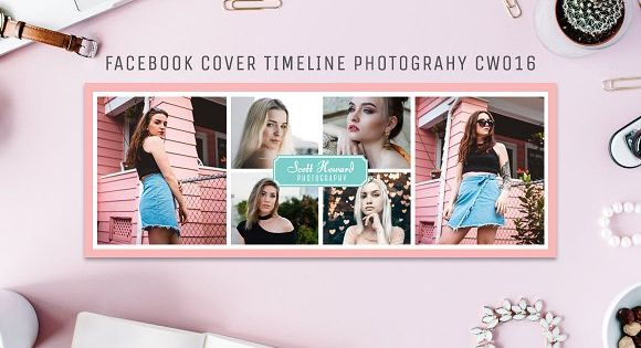 Facebook Cover Timeline for Fashion Photography Event