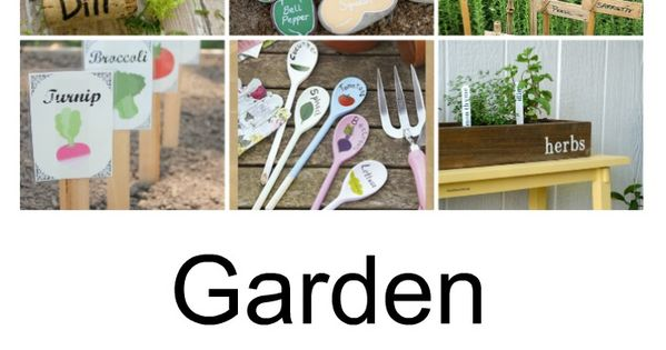 Garden Marker Ideas Garden Ideas Markers And Outdoors