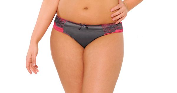 Tempt Me Raspberry/Charcoal | Curvy Kate
