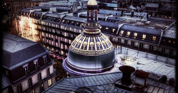 Catwalk in Paris from a rooftop behind the opera. France by miranda