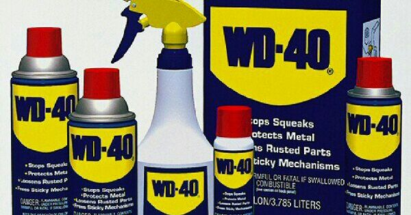 Who woulda thought the many uses of wd 40 stains for Wd 40 fish oil