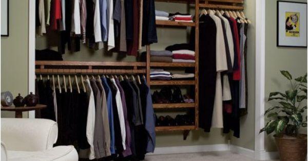 open closet storage ideas closets pinterest diy living room