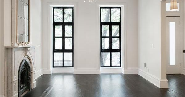 Townhouse rowhouse brownstone parlor floor dark wood for Gramercy park townhouse for sale