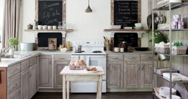 Photos villas et chalets traditionnels cuisine ouverte for Cuisine ouverte grange