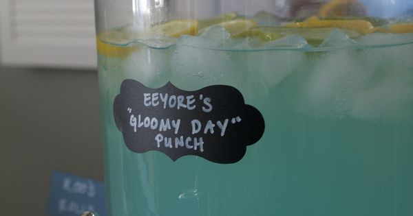 Winnie the Pooh - Eeyore's Gloomy Day Punch (great for ...