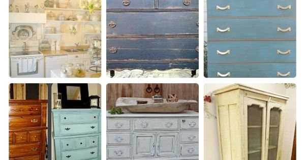 Great website for amazing DIY furniture refinishing ideas