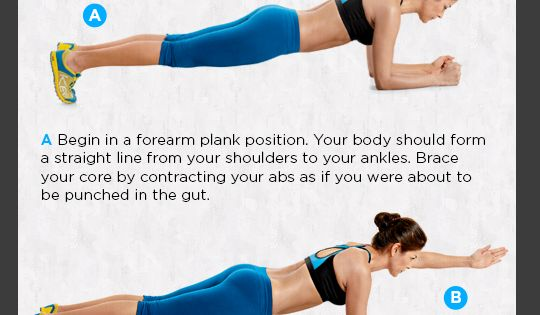 how to make plank harder