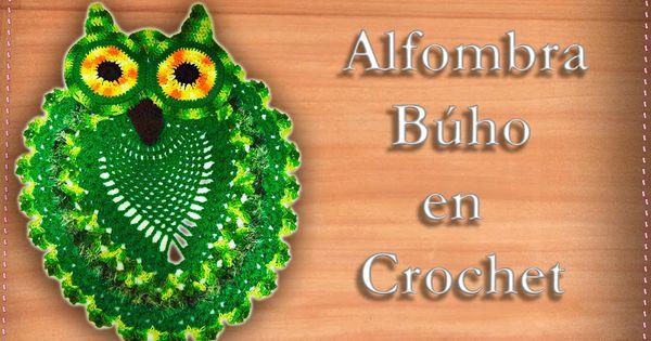 Alfombra b ho en crochet ideas para el hogar - Alfombras para el hogar ...