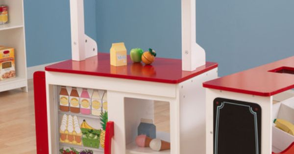Grocery Stand By Kidkraft On Gilt Super Mommy