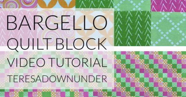 Video Tutorial Quick And Easy Bargello Quilt Block
