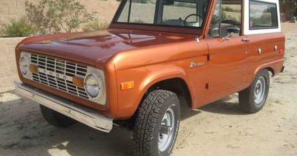 Ford Bronco Classic Bronco Bronco