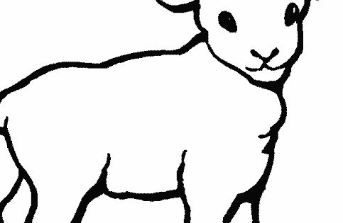 simple animal coloring pages animals coloring pages and sheets can be found in the farm. Black Bedroom Furniture Sets. Home Design Ideas