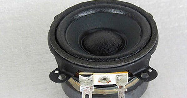 "1pcs New 4/"" inch 8Ohm 8Ω 40W HI-FI Bass Audio Speaker Stereo Woofer Loudspeaker"