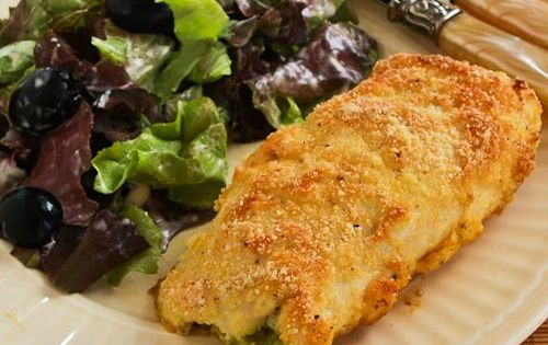 ... Baked Chicken Stuffed with Pesto and Cheese | decoracion | Pinterest