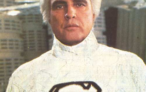 Marlon Brando in Superman: The Movie