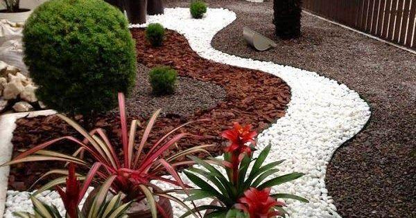 Ideas para dise ar tu jard n con piedras vida l cida - Decoracion de jardines con piedras ...