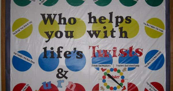 Elementary Counseling Bulletin Board Idea -- Love this one!