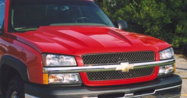 03 05 Chevy Silverado 03 04 Hd 03 06 Avalanche W O Cladding Ram Style Steel Cowl Induction Hood At Carolina Classic Truc Classic Trucks Chevy Silverado Chevy