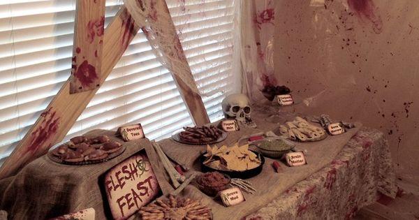"Photo 1 of 15: Zombie Halloween Birthday / Birthday ""Zombie Apocalypse End"