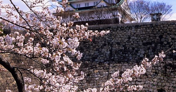 Osaka Castle, Osaka, Japan: Osaka Castle, during the cherry blossom festival, definitely