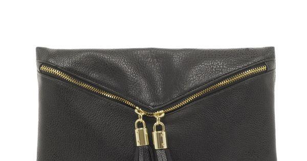 ASOS Clutch. $35. black clutch