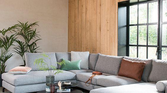 Montel Monza Hoekbank Woonkamerbank Design Woonkamers Huisstijl
