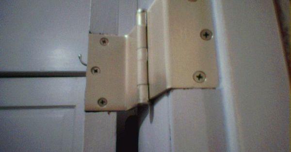 Offset Hinges Used To Widen Door Opening Church