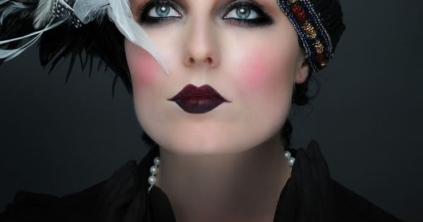 Make up for Great Gatsby | Flawless Beauty Bars: 1920's Makeup -
