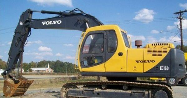 Volvo Ec150 Ec150 Lc Excavator Service Parts Manual Volvo Excavator Forestry Equipment