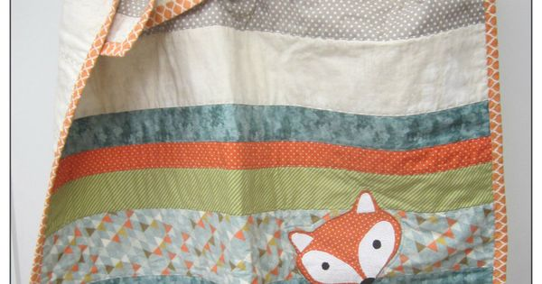 Baby Quilt Flannery The Fox Nursery Bedding Collection