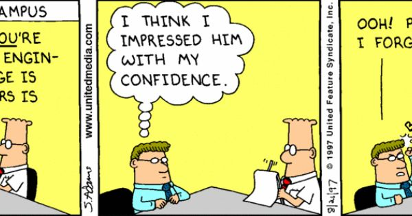 dilbert cartoons about engineering  u0026 careers
