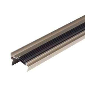 M D Building Products 48 In Satin Nickel U Shaped Door Bottom With Drip Cap 25714 M D Building Products Door Weather Stripping Satin Nickel