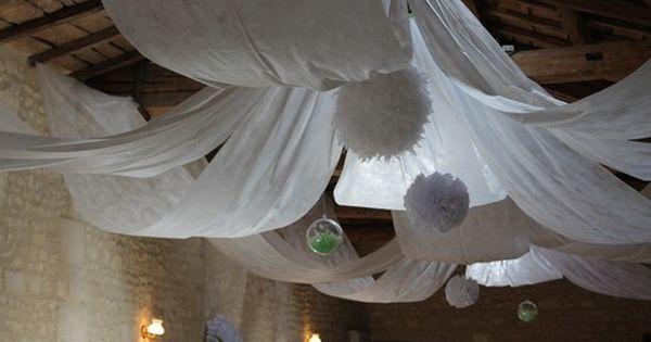 Deco Mariage Voilage Plafond Deco Plafond Mariage Deco Mariage Rideaux De Plafond