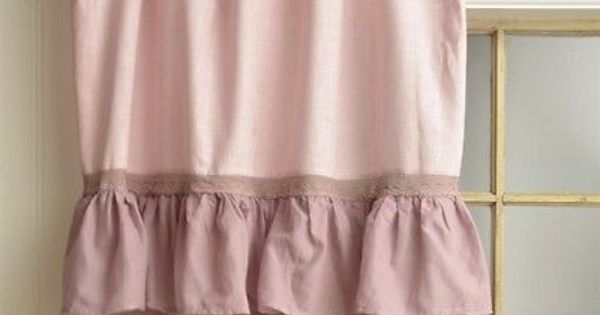 Vintage Gardine French-Nordic-Style shabby 249   Kitchen curtains ...