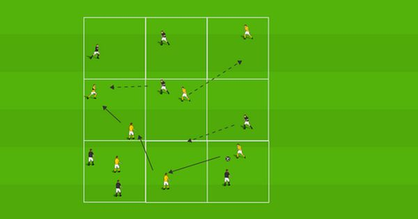 Changing The Direction Of Play Part 2 World Class Coaching Training Center Soccer Drills Football Drills Football Is Life