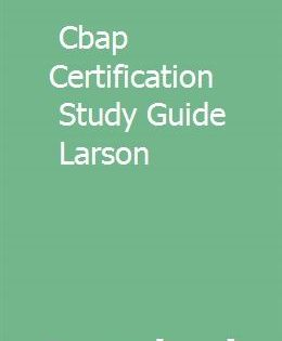 Cbap Certification Study Guide Larson Study Guide Cpr Certification Cpr Training