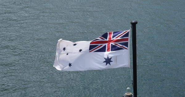 flags of the royal navy