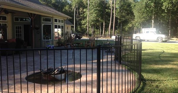 2rail Flush Top And Curved Design Fences