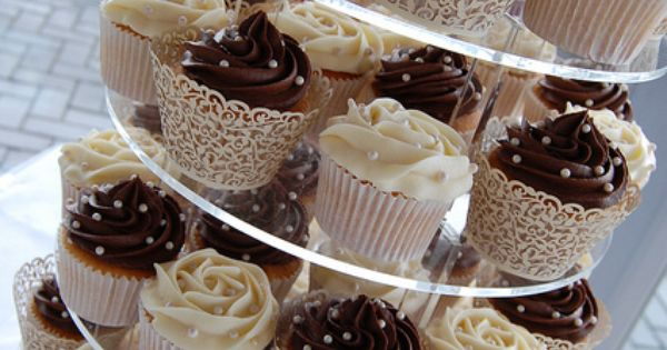 Dark chocolate frosting, Mr mrs and Cupcake on Pinterest